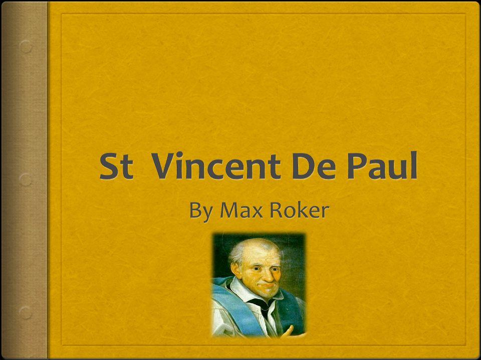 St Vincent De Paul By Max Roker