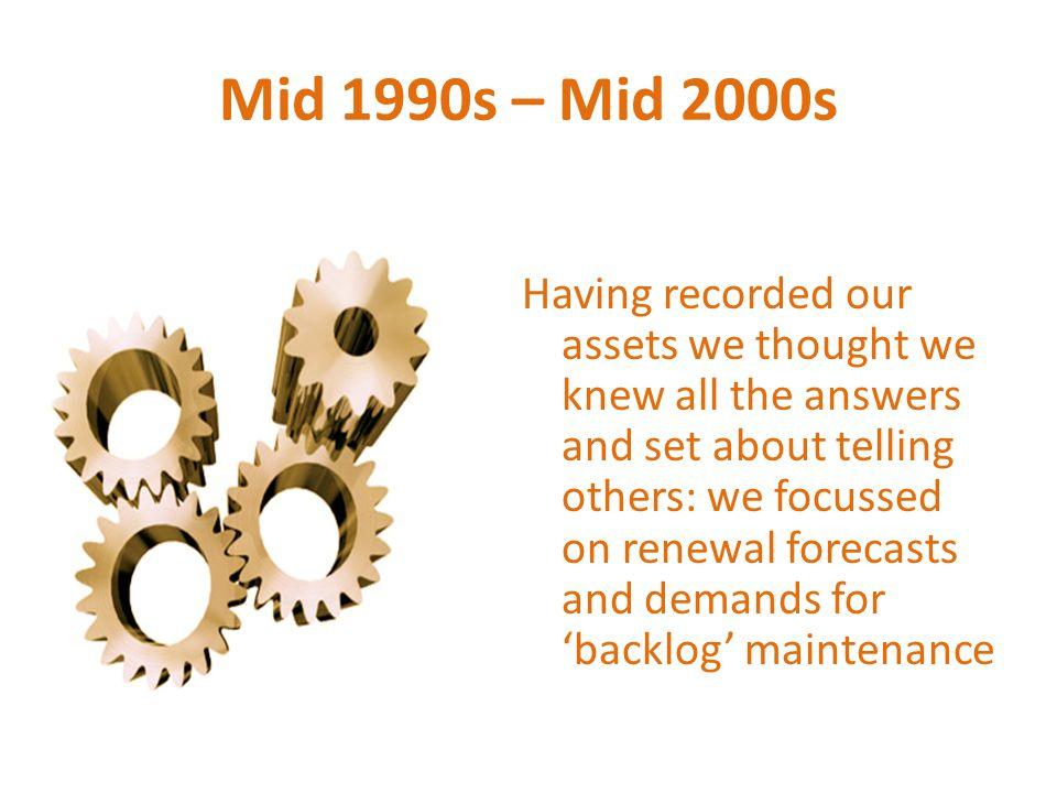 Mid 1990s – Mid 2000s