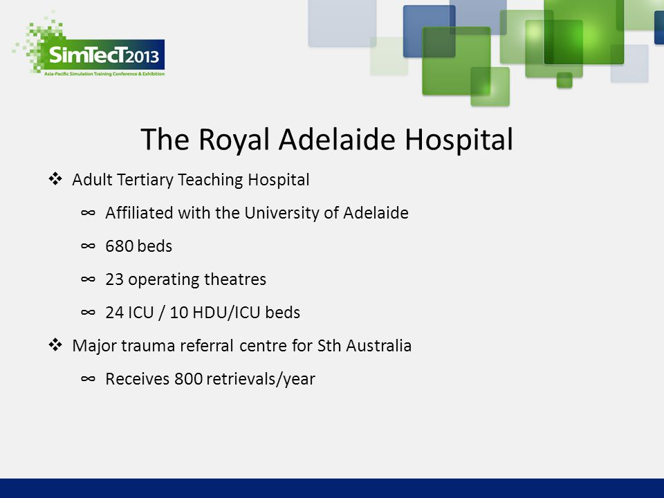 The Royal Adelaide Hospital