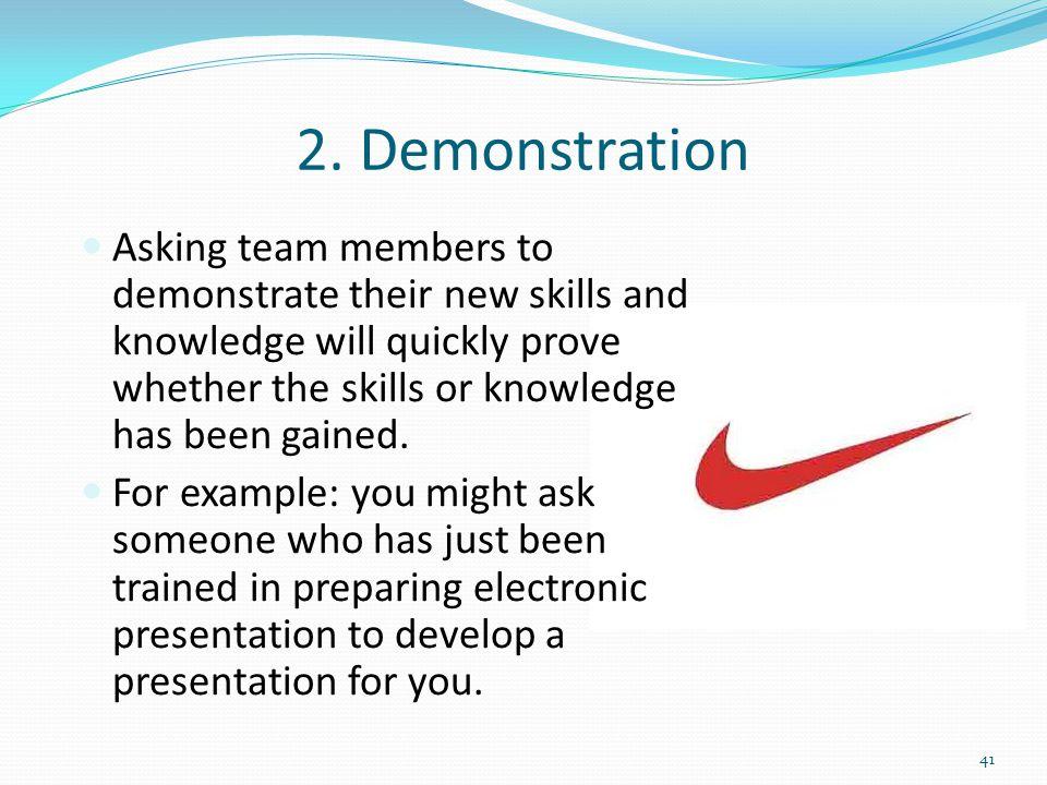 2. Demonstration