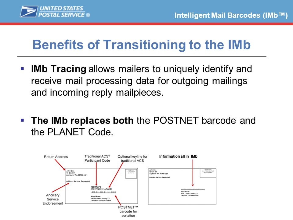 Benefits of Transitioning to the IMb