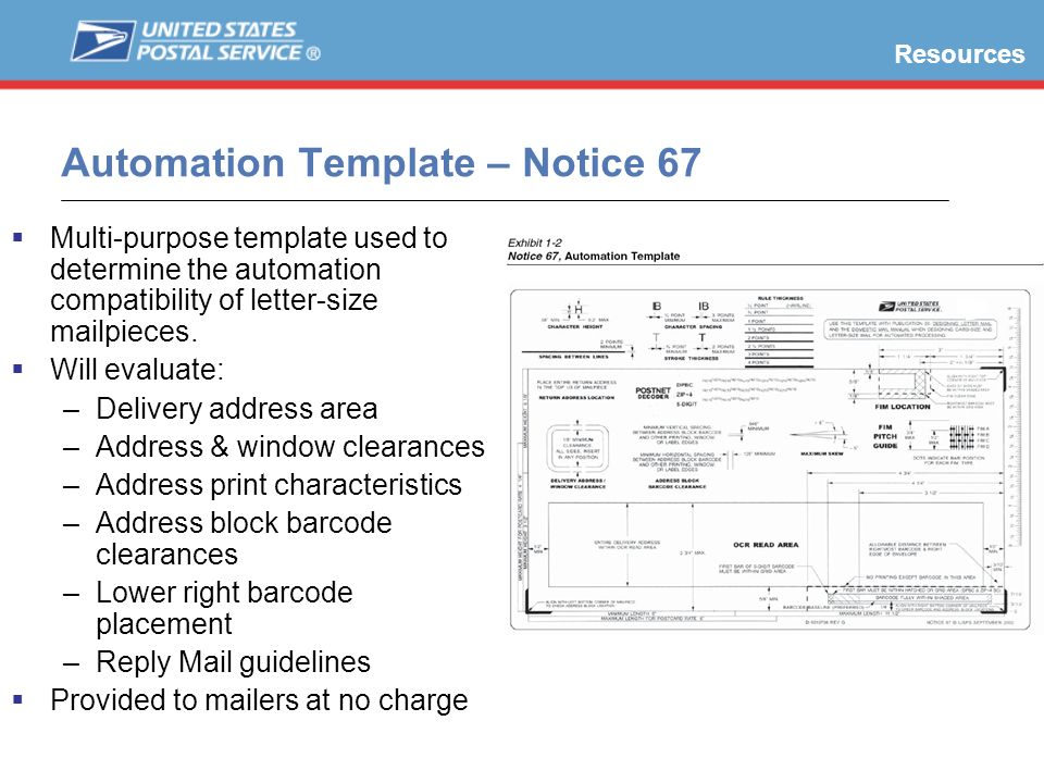 Automation Template – Notice 67