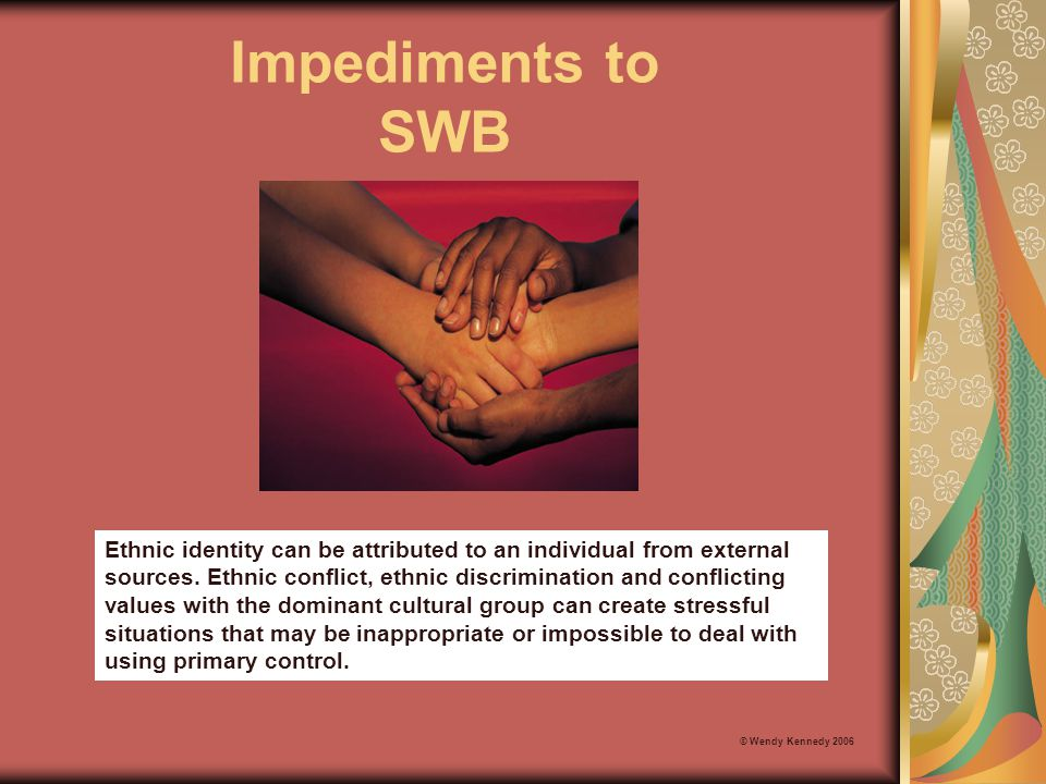 Impediments to SWB