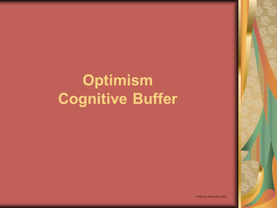 Optimism Cognitive Buffer