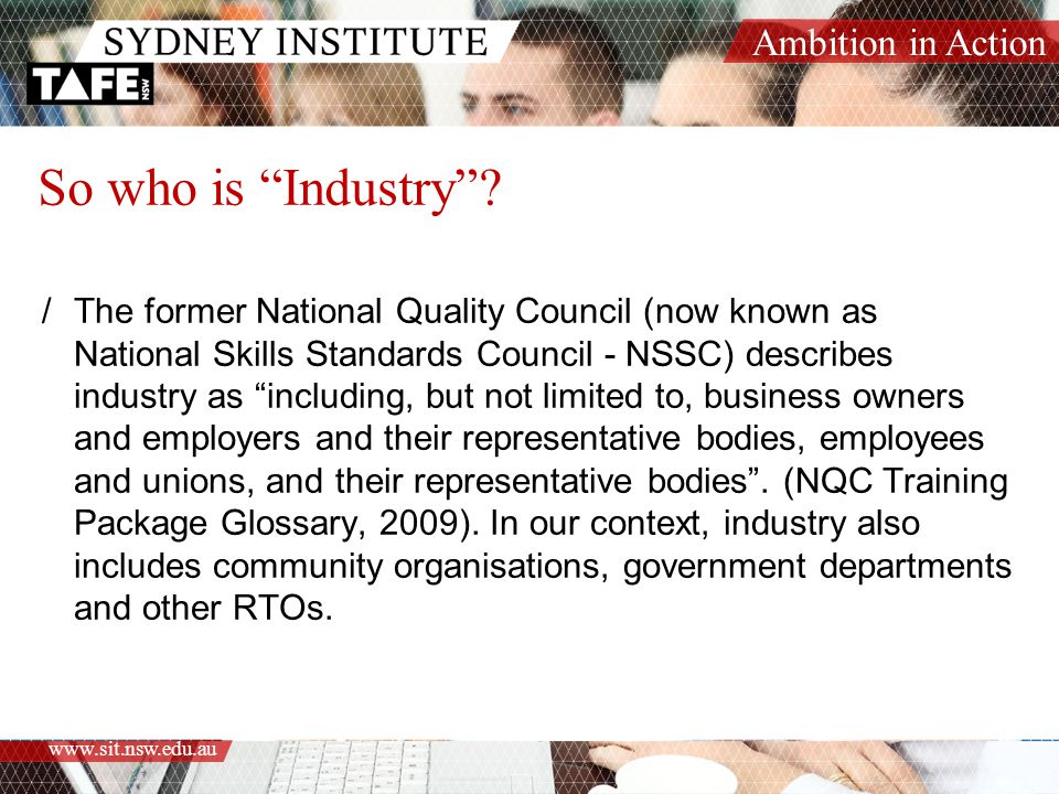 So who is Industry