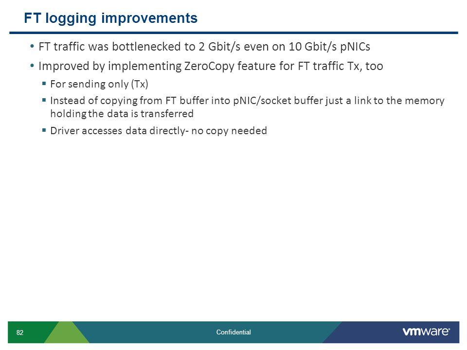 FT logging improvements