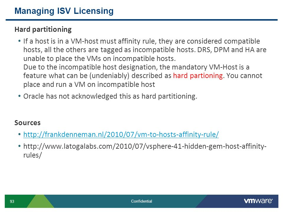 Managing ISV Licensing