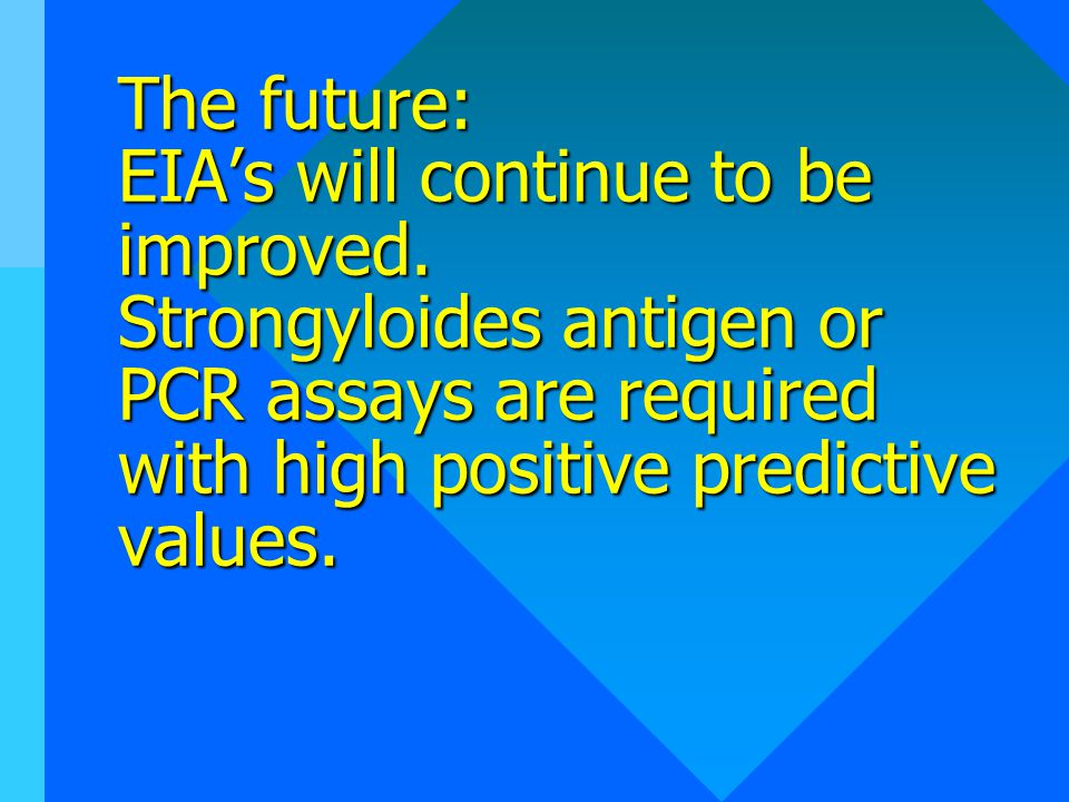 The future: EIA's will continue to be improved