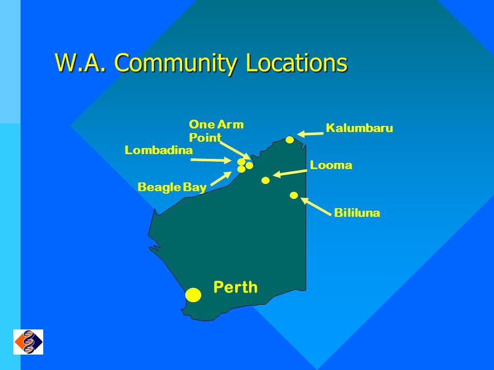 W.A. Community Locations