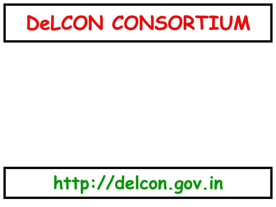 DeLCON CONSORTIUM http://delcon.gov.in