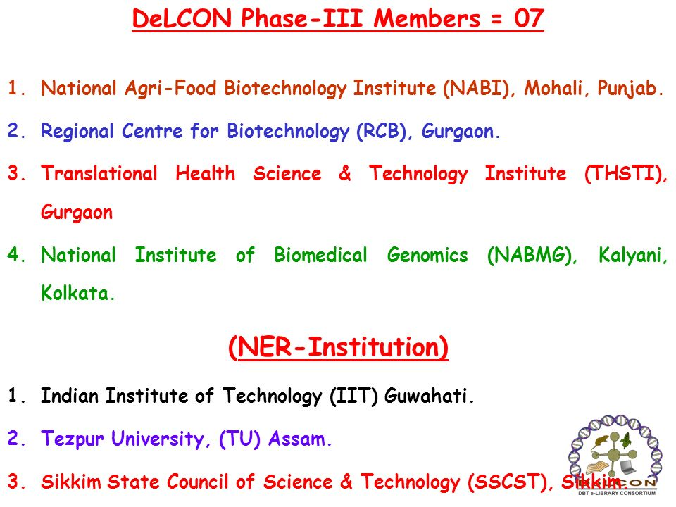 DeLCON Phase-III Members = 07