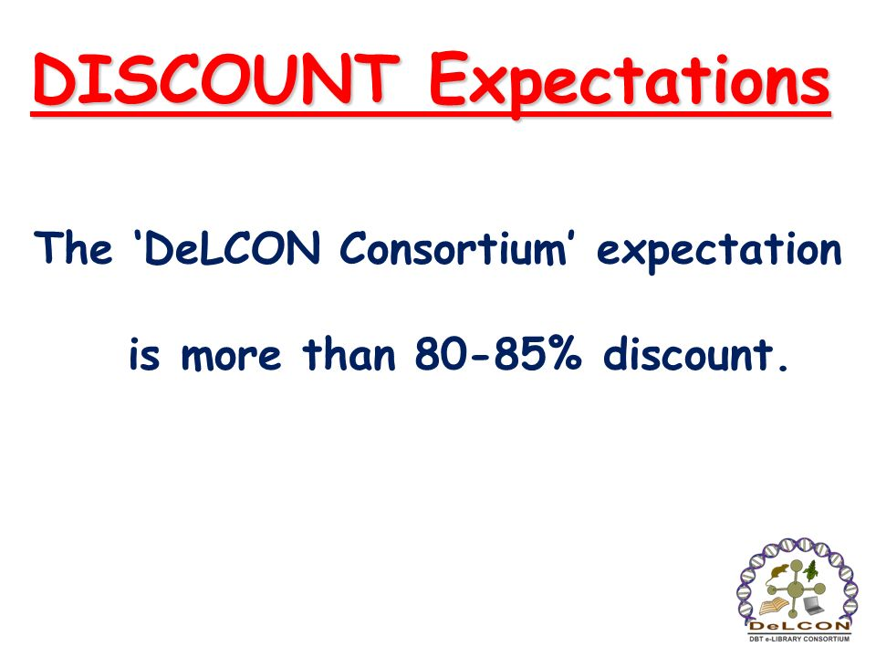 DISCOUNT Expectations