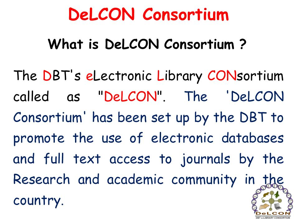 What is DeLCON Consortium