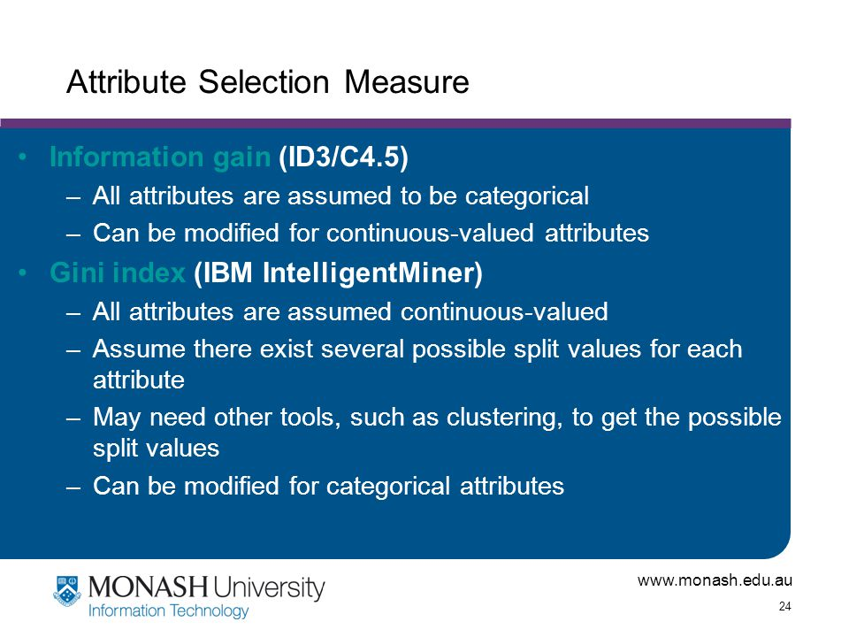 Attribute Selection Measure