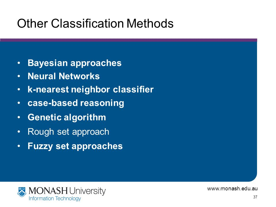 Other Classification Methods