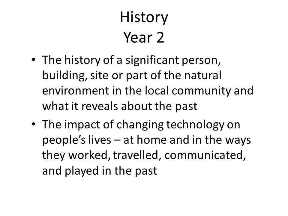 History Year 2