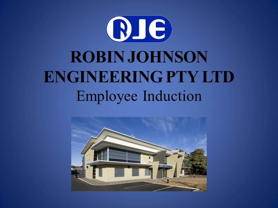 ROBIN JOHNSON ENGINEERING PTY LTD