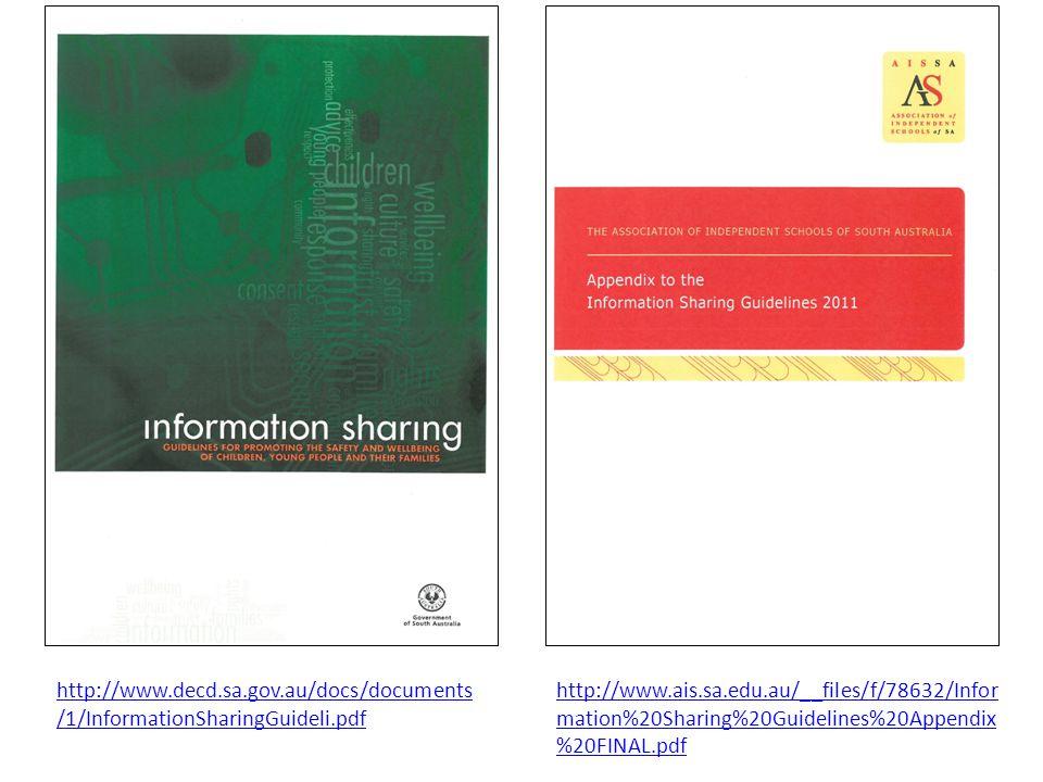http://www.decd.sa.gov.au/docs/documents/1/InformationSharingGuideli.pdf