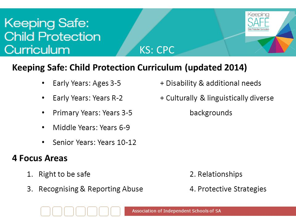 KS: CPC Keeping Safe: Child Protection Curriculum (updated 2014)