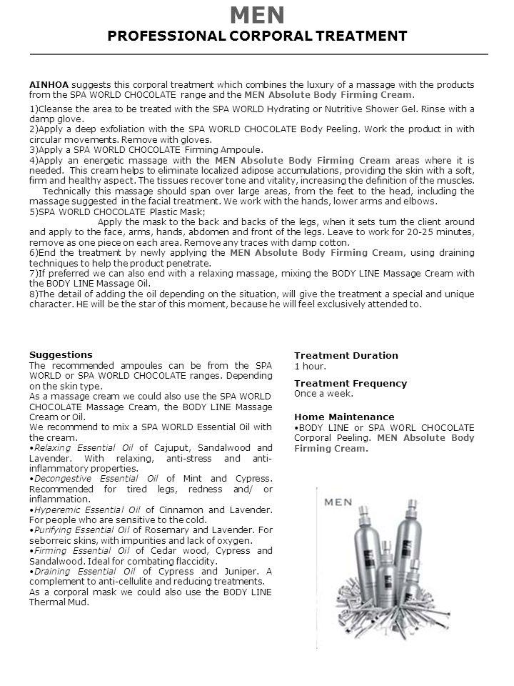 PROFESSIONAL CORPORAL TREATMENT