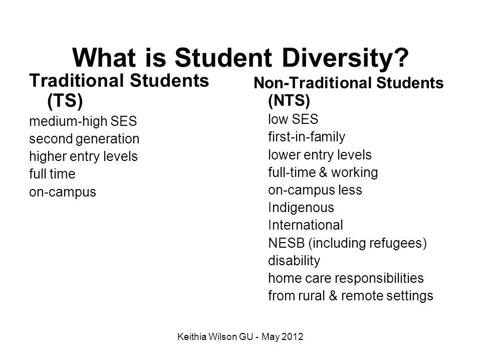 What is Student Diversity