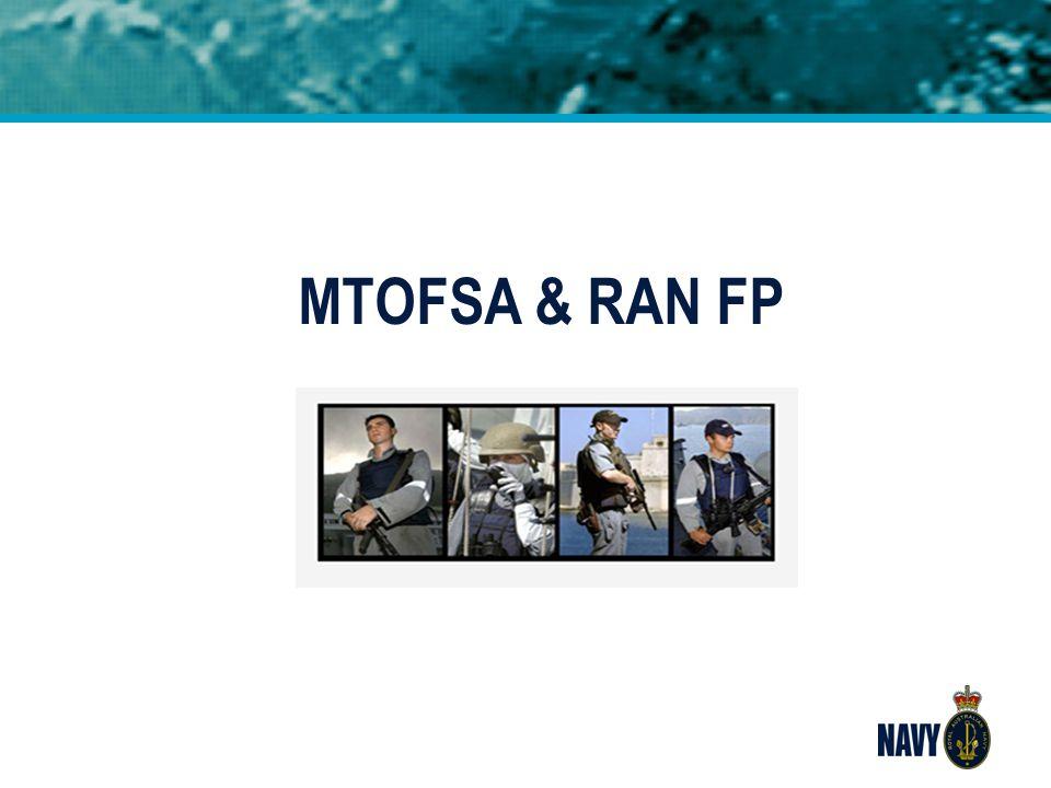 MTOFSA & RAN FP