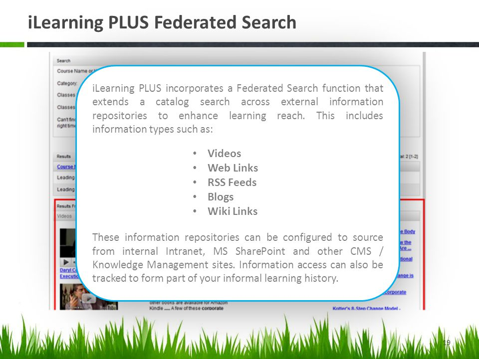 iLearning PLUS Federated Search