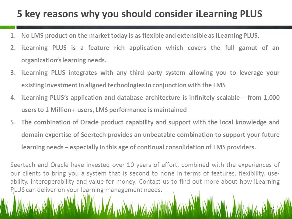 5 key reasons why you should consider iLearning PLUS