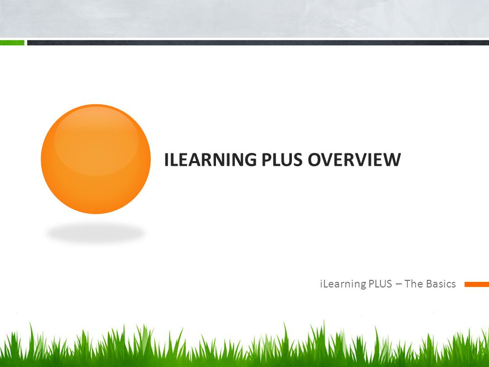 iLearning PLUS Overview