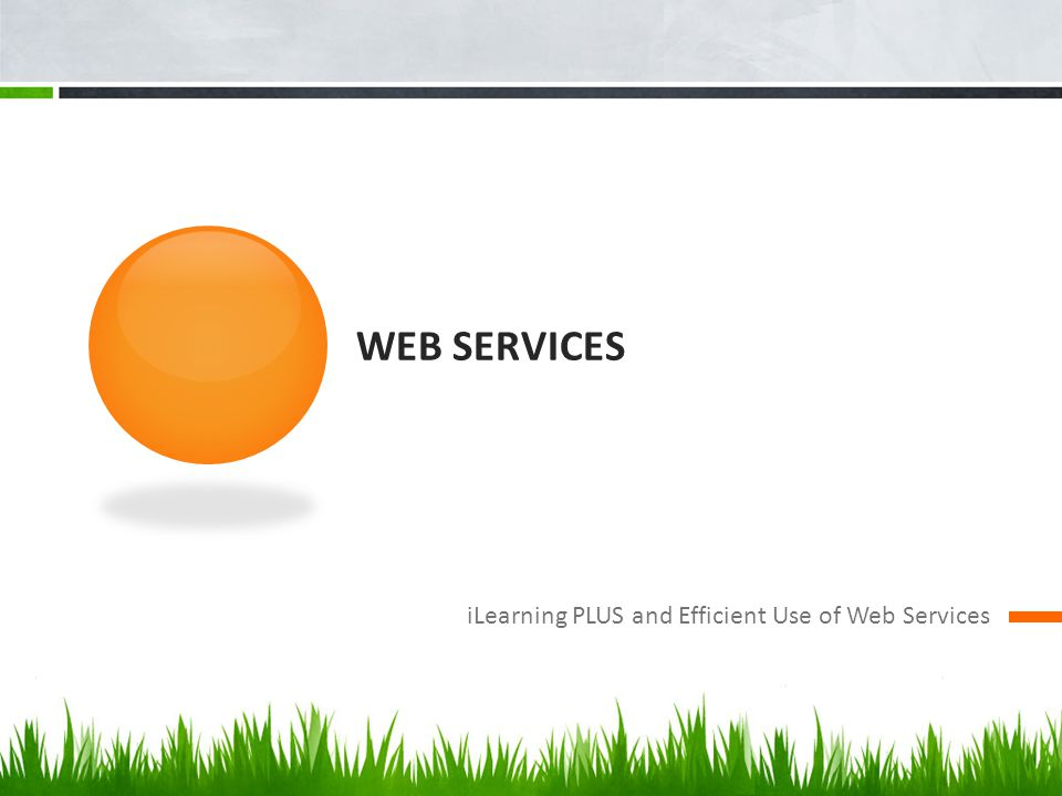 Web Services iLearning PLUS and Efficient Use of Web Services