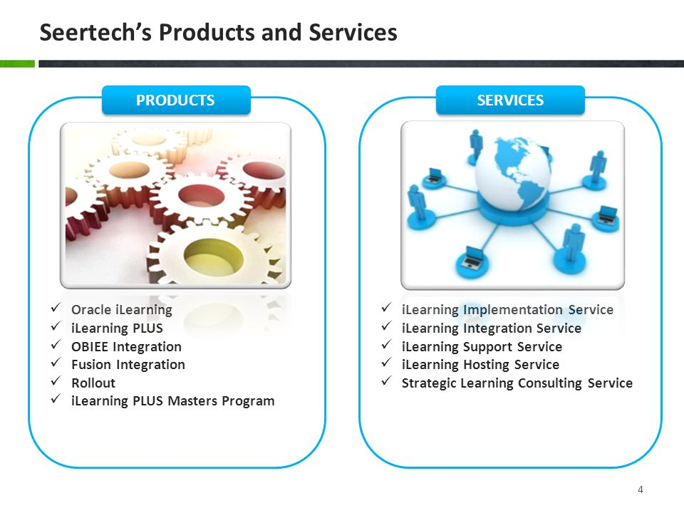 Seertech's Products and Services