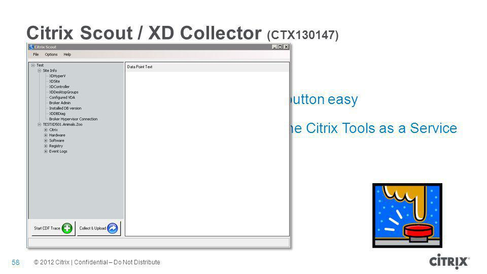 Citrix Scout / XD Collector (CTX130147)