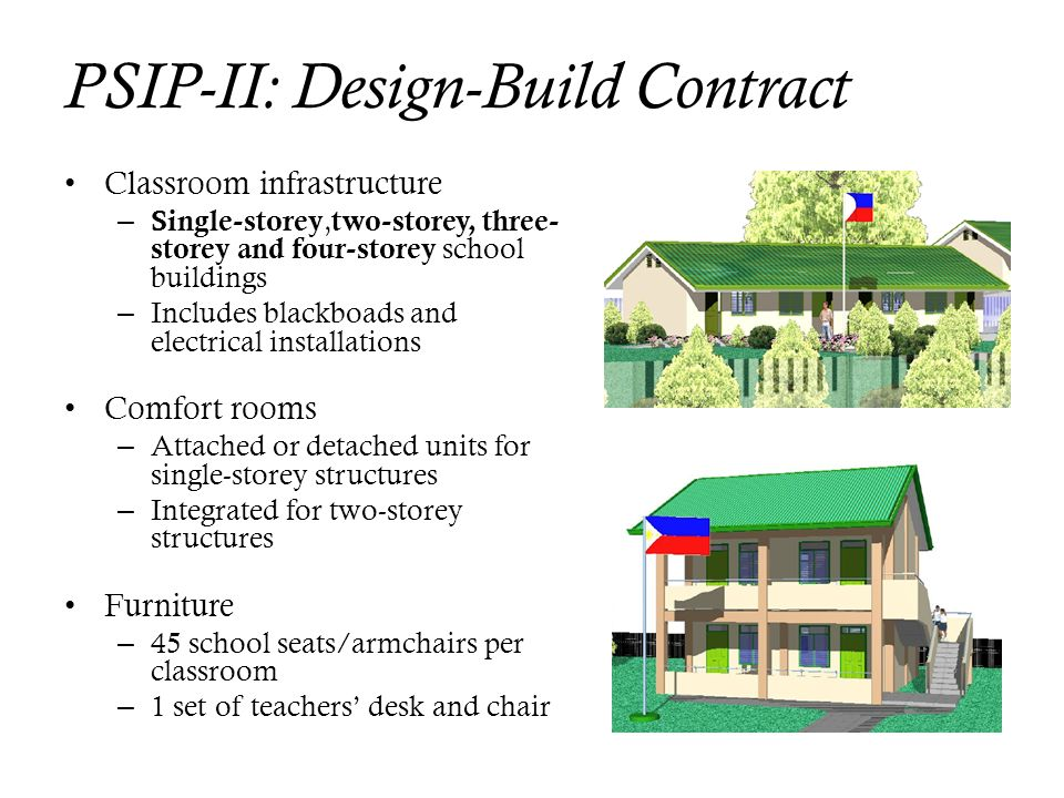 PSIP-II: Design-Build Contract