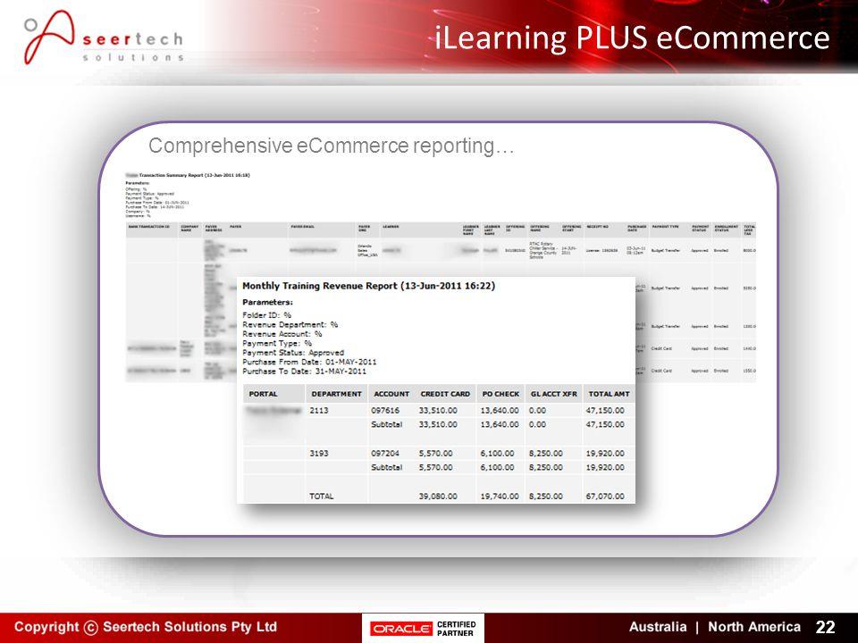 iLearning PLUS eCommerce