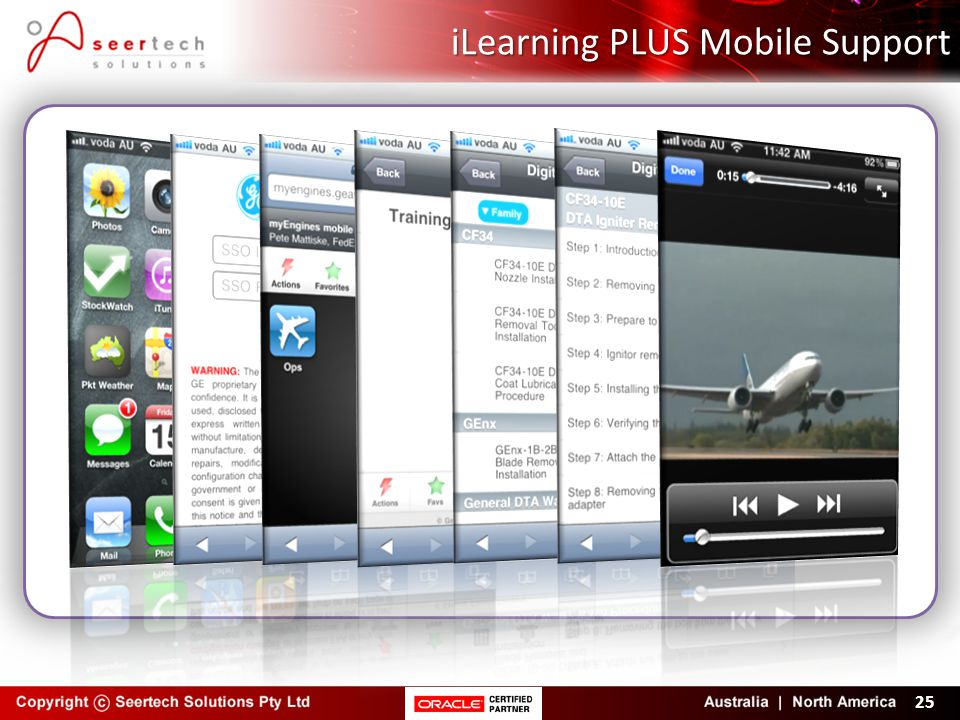 iLearning PLUS Mobile Support