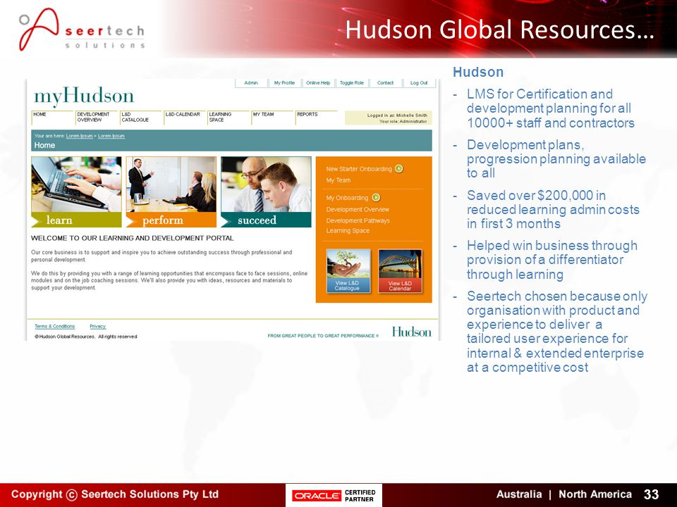 Hudson Global Resources…