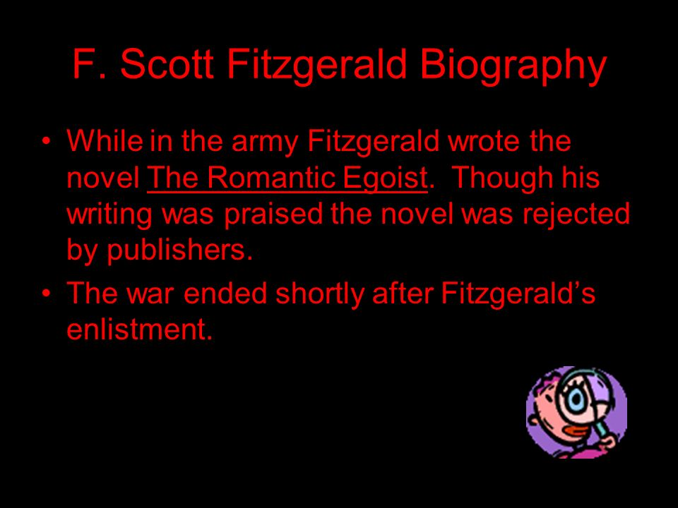 F. Scott Fitzgerald Biography