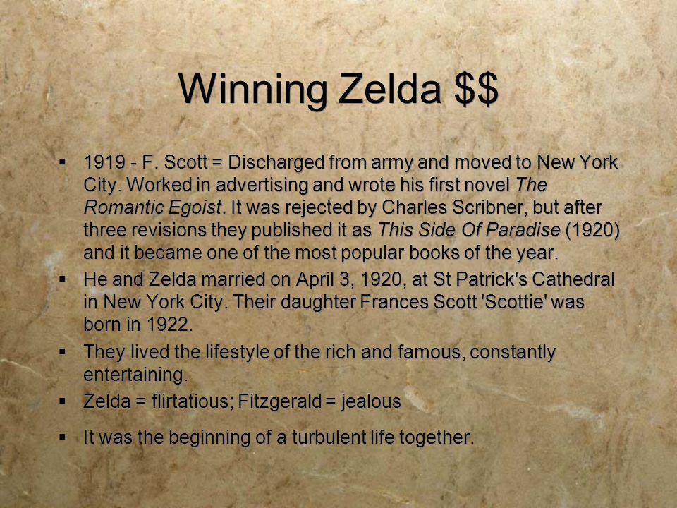 Winning Zelda $$