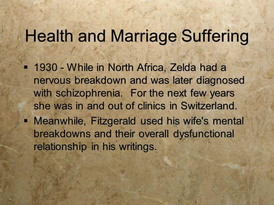 Health and Marriage Suffering