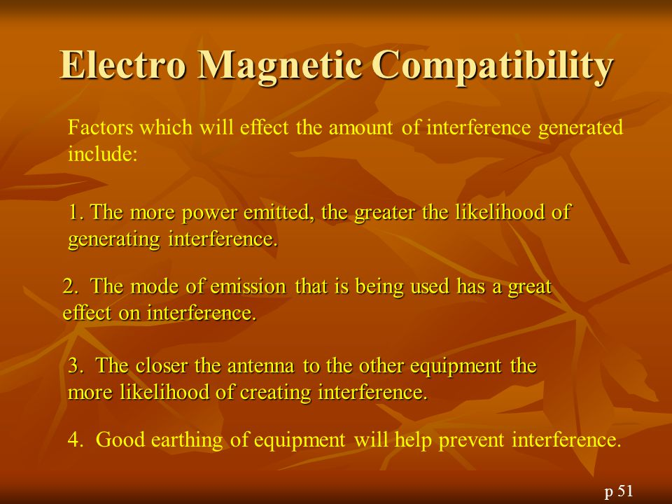 Electro Magnetic Compatibility