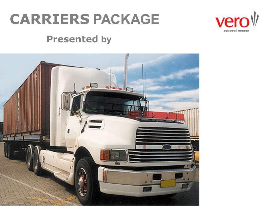 CARRIERS PACKAGE Presented by