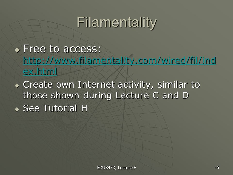 Filamentality Free to access: http://www.filamentality.com/wired/fil/index.html.