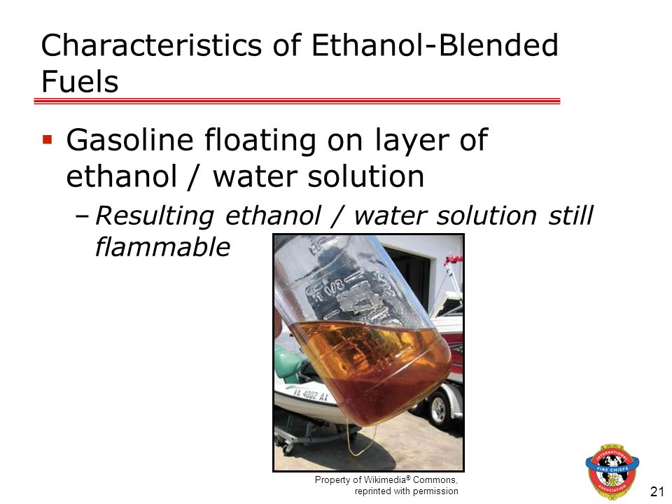 Characteristics of Ethanol-Blended Fuels