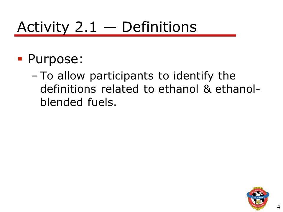 Activity 2.1 — Definitions