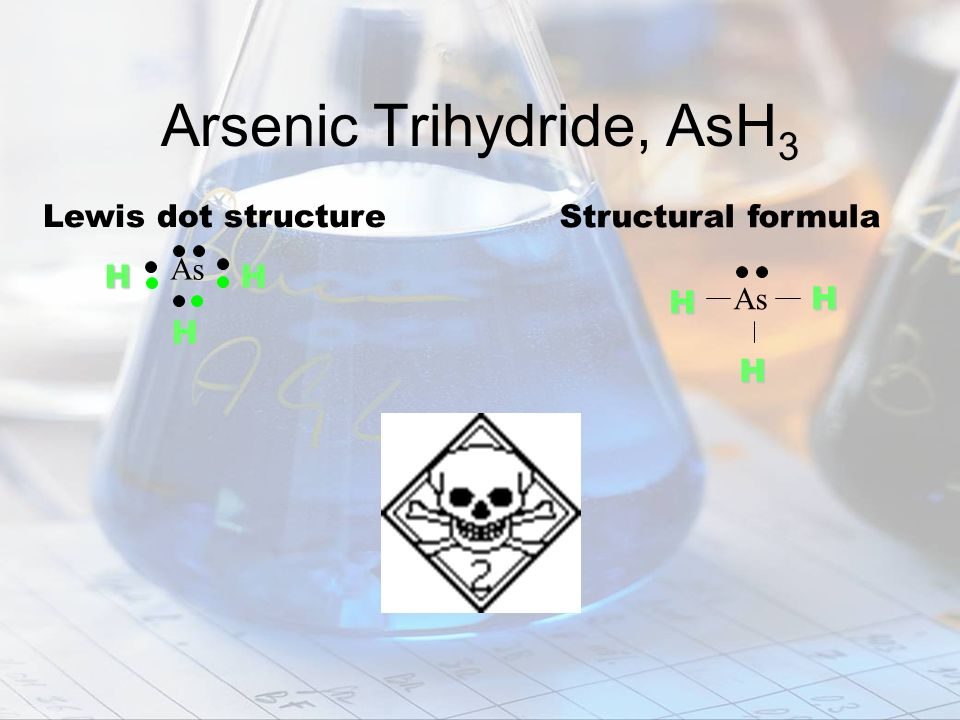Arsenic Trihydride, AsH3