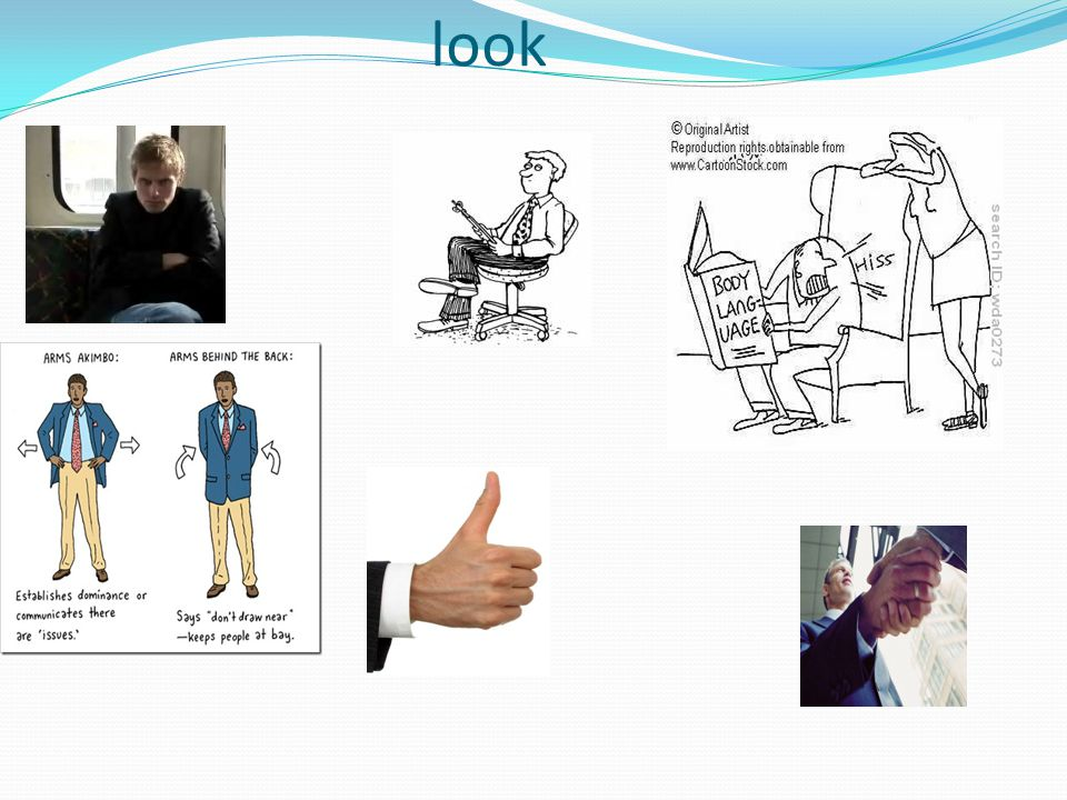 Body language – how does it look