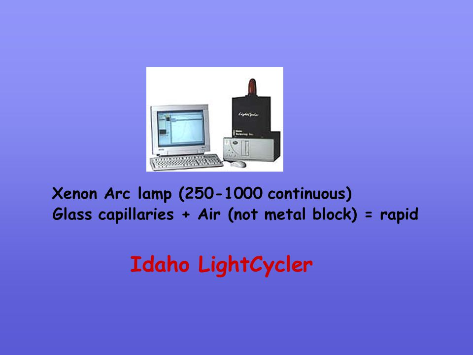 Idaho LightCycler Xenon Arc lamp (250-1000 continuous)