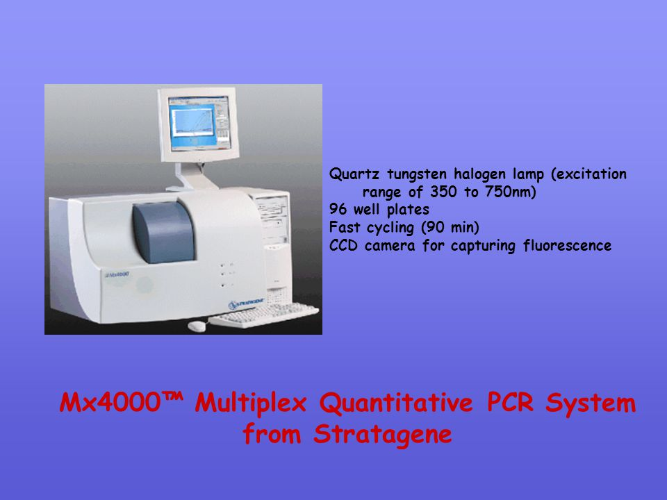 Mx4000™ Multiplex Quantitative PCR System from Stratagene