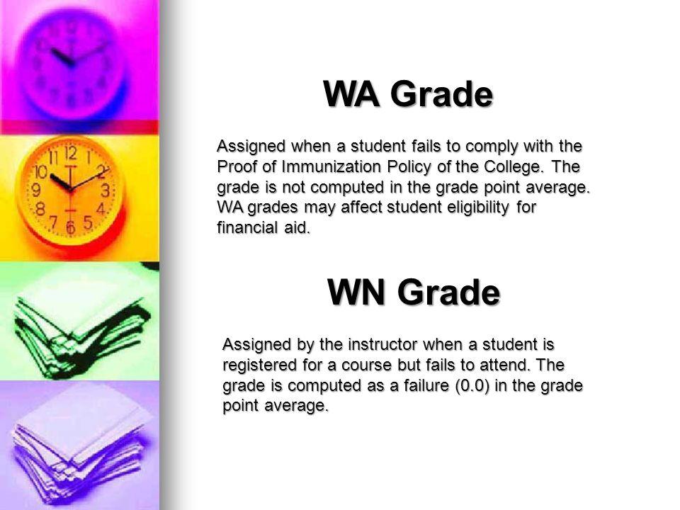 WA Grade