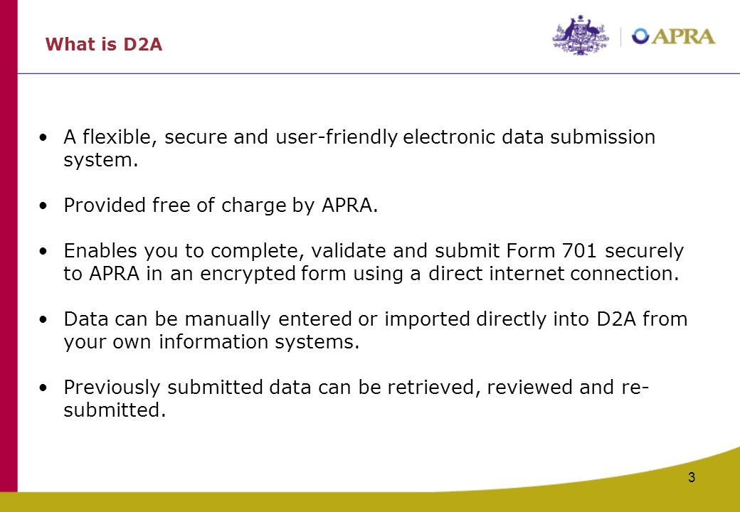 Provided free of charge by APRA.